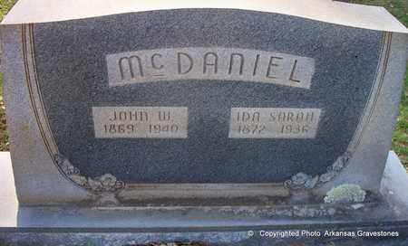 MCDANIEL, JOHN W - Lafayette County, Arkansas   JOHN W MCDANIEL - Arkansas Gravestone Photos