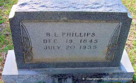 PHILLIPS, B L - Lafayette County, Arkansas | B L PHILLIPS - Arkansas Gravestone Photos