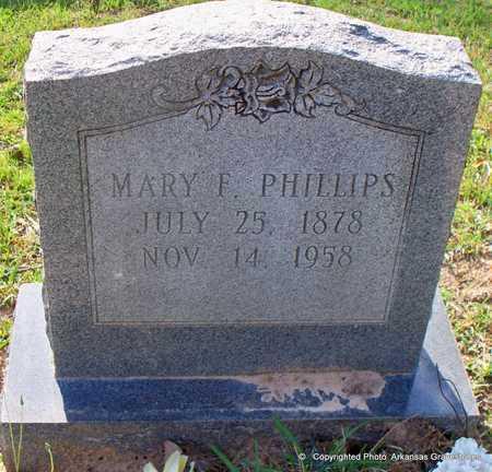 PHILLIPS, MARY F - Lafayette County, Arkansas | MARY F PHILLIPS - Arkansas Gravestone Photos