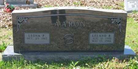 AARON, LEONA - Lawrence County, Arkansas | LEONA AARON - Arkansas Gravestone Photos