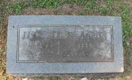 AARON, LUCY JANE - Lawrence County, Arkansas   LUCY JANE AARON - Arkansas Gravestone Photos