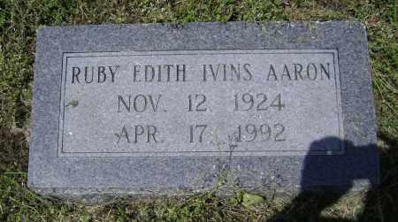 AARON, RUBY EDITH - Lawrence County, Arkansas | RUBY EDITH AARON - Arkansas Gravestone Photos