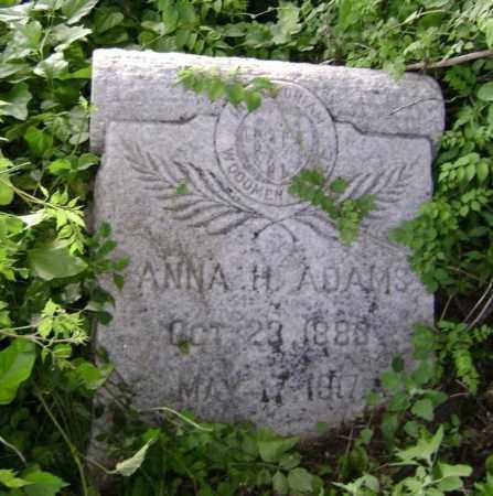 ADAMS, ANNA H. - Lawrence County, Arkansas | ANNA H. ADAMS - Arkansas Gravestone Photos