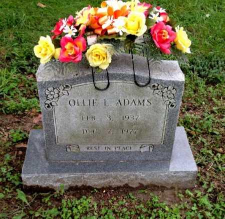 ADAMS, OLLIE LOU - Lawrence County, Arkansas | OLLIE LOU ADAMS - Arkansas Gravestone Photos