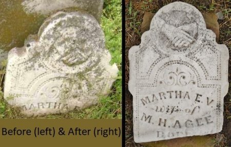 AGEE, MARTHA E V - Lawrence County, Arkansas | MARTHA E V AGEE - Arkansas Gravestone Photos