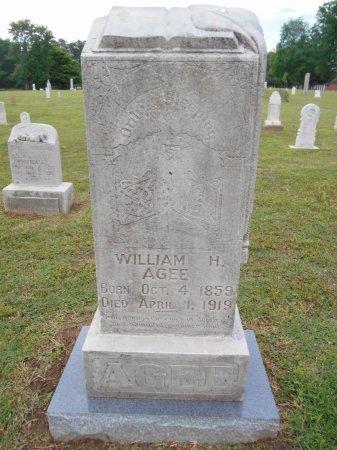AGEE, WILLIAM H - Lawrence County, Arkansas   WILLIAM H AGEE - Arkansas Gravestone Photos
