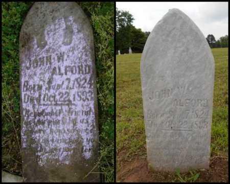 ALFORD, JOHN W - Lawrence County, Arkansas | JOHN W ALFORD - Arkansas Gravestone Photos