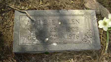 ALLEN, ADDIE ELIZABETH - Lawrence County, Arkansas | ADDIE ELIZABETH ALLEN - Arkansas Gravestone Photos