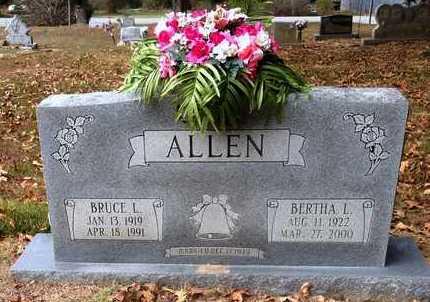 ALLEN, BRUCE LUCIAN - Lawrence County, Arkansas | BRUCE LUCIAN ALLEN - Arkansas Gravestone Photos