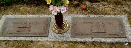 ALLEN, EDITH H. - Lawrence County, Arkansas   EDITH H. ALLEN - Arkansas Gravestone Photos