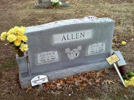 ALLEN, GLENN D - Lawrence County, Arkansas | GLENN D ALLEN - Arkansas Gravestone Photos