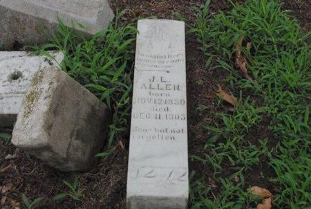 ALLEN, J L - Lawrence County, Arkansas | J L ALLEN - Arkansas Gravestone Photos