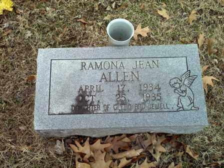 ALLEN, RAMONA JEAN - Lawrence County, Arkansas | RAMONA JEAN ALLEN - Arkansas Gravestone Photos