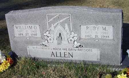 ALLEN, RUBY LUCILLE - Lawrence County, Arkansas | RUBY LUCILLE ALLEN - Arkansas Gravestone Photos