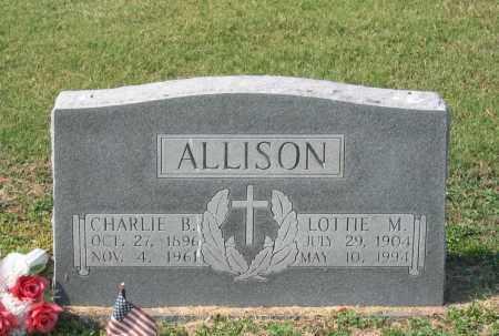ALLISON, LOTTIE M. - Lawrence County, Arkansas | LOTTIE M. ALLISON - Arkansas Gravestone Photos