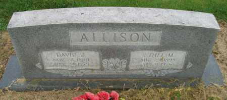 ALLISON, ETHEL M. - Lawrence County, Arkansas | ETHEL M. ALLISON - Arkansas Gravestone Photos