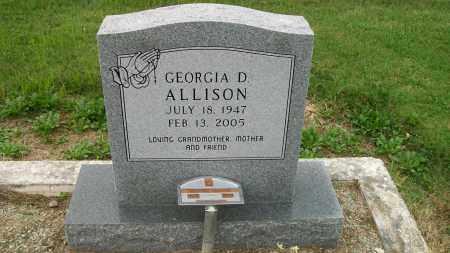 ALLISON, GEORGIA - Lawrence County, Arkansas   GEORGIA ALLISON - Arkansas Gravestone Photos