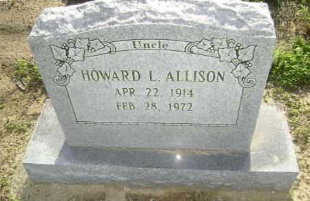 ALLISON, HOWARD LEONARD - Lawrence County, Arkansas | HOWARD LEONARD ALLISON - Arkansas Gravestone Photos