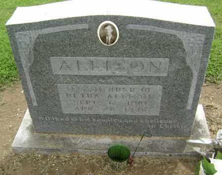 ALLISON, MAX M. - Lawrence County, Arkansas | MAX M. ALLISON - Arkansas Gravestone Photos