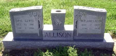 ALLISON, OPAL - Lawrence County, Arkansas | OPAL ALLISON - Arkansas Gravestone Photos