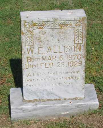 ALLISON, W. E. - Lawrence County, Arkansas | W. E. ALLISON - Arkansas Gravestone Photos