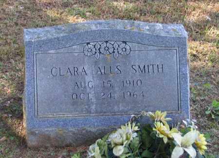 SMITH, CLARA CLARK ALLS - Lawrence County, Arkansas | CLARA CLARK ALLS SMITH - Arkansas Gravestone Photos