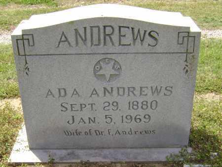 DAWSON ANDREWS, ADA JOSEPHINE - Lawrence County, Arkansas | ADA JOSEPHINE DAWSON ANDREWS - Arkansas Gravestone Photos
