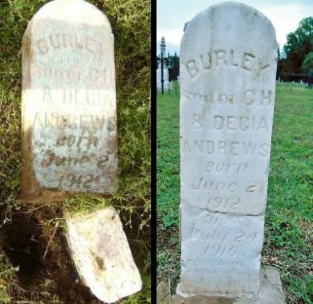 ANDREWS, BURLEY - Lawrence County, Arkansas | BURLEY ANDREWS - Arkansas Gravestone Photos