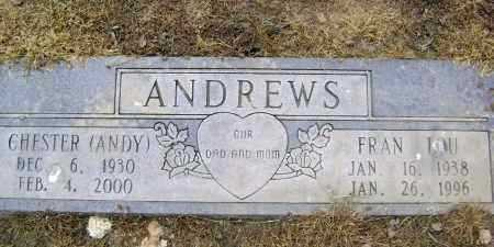 "ANDREWS, CHESTER ""ANDY"" - Lawrence County, Arkansas 