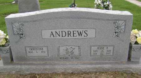 ANDREWS, JESSE F - Lawrence County, Arkansas | JESSE F ANDREWS - Arkansas Gravestone Photos