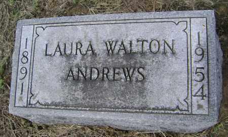 ANDREWS, LAURA WALTON - Lawrence County, Arkansas   LAURA WALTON ANDREWS - Arkansas Gravestone Photos