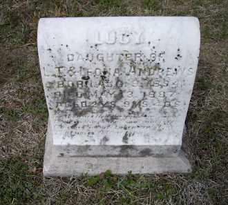 ANDREWS, LUCY - Lawrence County, Arkansas   LUCY ANDREWS - Arkansas Gravestone Photos