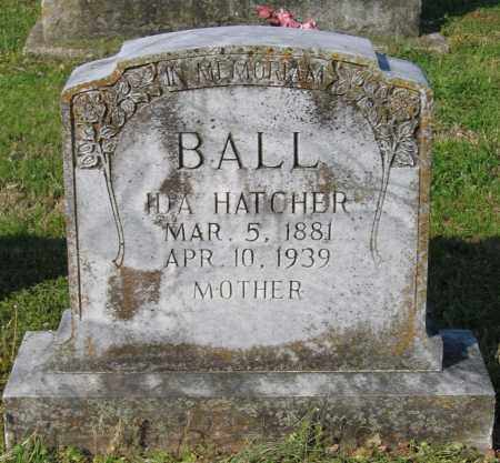 BALL, IDA FRANCES - Lawrence County, Arkansas | IDA FRANCES BALL - Arkansas Gravestone Photos