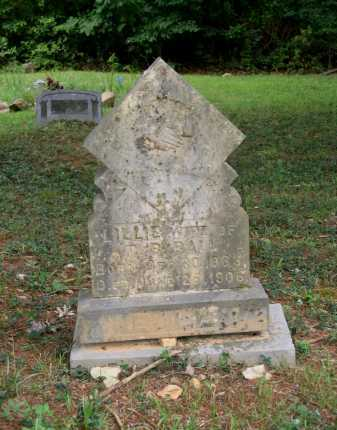 BALL, LILLIE M - Lawrence County, Arkansas | LILLIE M BALL - Arkansas Gravestone Photos