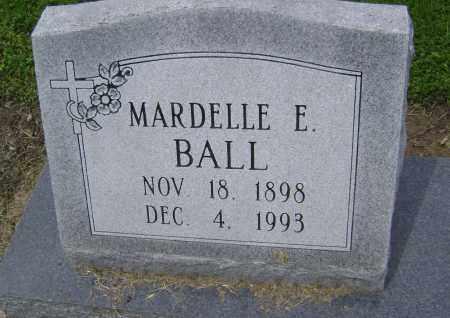 BALL, MARDELLE E. - Lawrence County, Arkansas | MARDELLE E. BALL - Arkansas Gravestone Photos