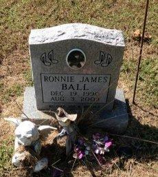 BALL, RONNIE JAMES - Lawrence County, Arkansas | RONNIE JAMES BALL - Arkansas Gravestone Photos