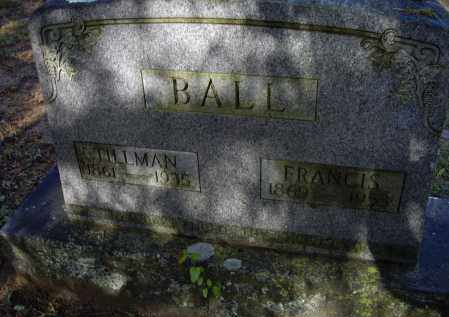 BALL, MARGARET FRANCES - Lawrence County, Arkansas | MARGARET FRANCES BALL - Arkansas Gravestone Photos