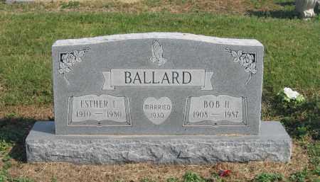 BALLARD, BOB H. - Lawrence County, Arkansas   BOB H. BALLARD - Arkansas Gravestone Photos