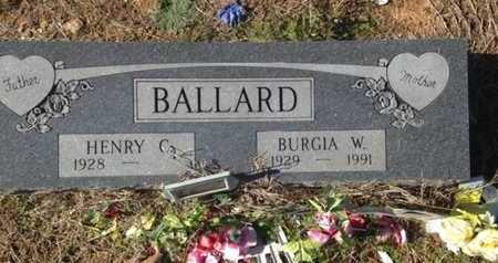 BALLARD, HENRY CLAY - Lawrence County, Arkansas   HENRY CLAY BALLARD - Arkansas Gravestone Photos