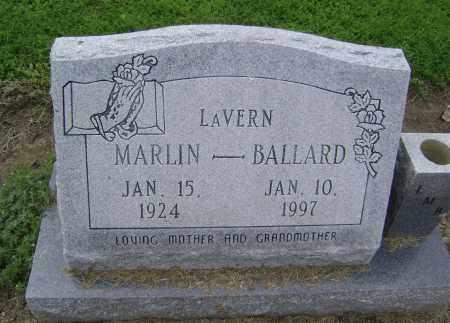 BALLARD, LAVERN - Lawrence County, Arkansas   LAVERN BALLARD - Arkansas Gravestone Photos