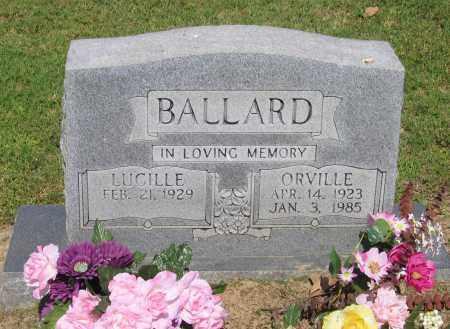 BALLARD, MARVIN ORVILLE - Lawrence County, Arkansas | MARVIN ORVILLE BALLARD - Arkansas Gravestone Photos