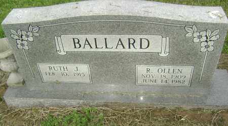 BALLARD, RILEY OLLEN - Lawrence County, Arkansas | RILEY OLLEN BALLARD - Arkansas Gravestone Photos