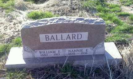 BALLARD, NANNIE F - Lawrence County, Arkansas | NANNIE F BALLARD - Arkansas Gravestone Photos