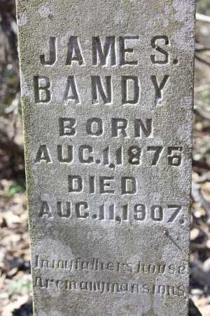 BANDY, JAMES S. (CLOSEUP) - Lawrence County, Arkansas | JAMES S. (CLOSEUP) BANDY - Arkansas Gravestone Photos