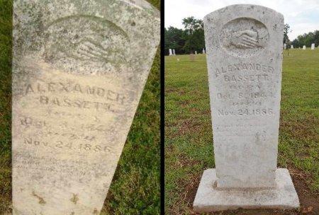 BASSETT, ALEXANDER - Lawrence County, Arkansas | ALEXANDER BASSETT - Arkansas Gravestone Photos