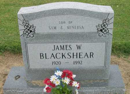BLACKSHEAR, JAMES W. - Lawrence County, Arkansas | JAMES W. BLACKSHEAR - Arkansas Gravestone Photos