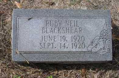 BLACKSHEAR, RUBY NEIL - Lawrence County, Arkansas | RUBY NEIL BLACKSHEAR - Arkansas Gravestone Photos