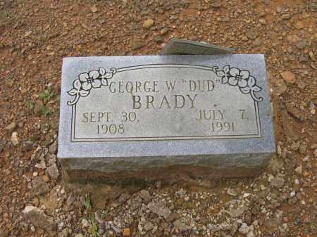 "BRADY, GEORGE WYMER ""DUD"" - Lawrence County, Arkansas | GEORGE WYMER ""DUD"" BRADY - Arkansas Gravestone Photos"