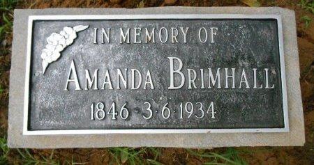 BRIMHALL, AMANDA E - Lawrence County, Arkansas | AMANDA E BRIMHALL - Arkansas Gravestone Photos