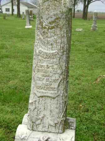 SMITH BRIMHALL, BERTHA E. - Lawrence County, Arkansas   BERTHA E. SMITH BRIMHALL - Arkansas Gravestone Photos